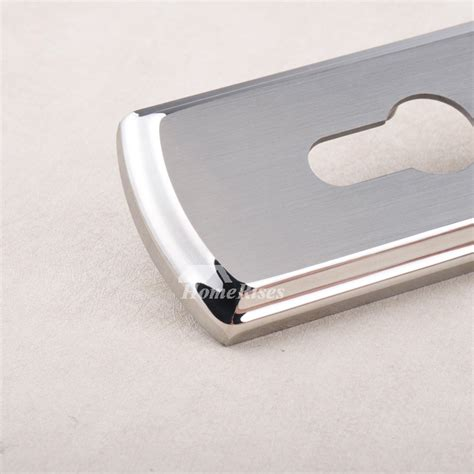 french door handles stainless steel silver brushed