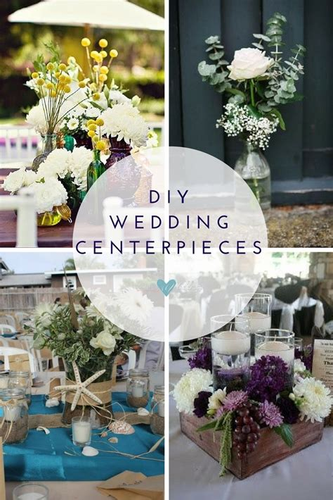 diy table decorations for wedding reception affordable wedding centerpieces original ideas tips diys