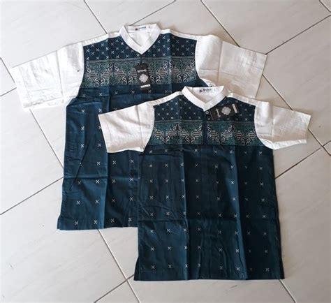 Baju Muslim Koko Pria Ayah Anak jual baju koko ayah anak di lapak ukhuwahstore