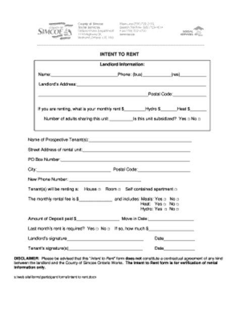 Intent Rent Form  Fill Online, Printable, Fillable, Blank. Resume Template Free Download For Teachers. Curriculum Vitae Ejemplo Costa Rica. Resume Summary Nursing Student. Cover Letter Examples College Students. Resume Format. Cover Letter Example Venture Capital. Curriculum Vitae Serveur De Restaurant. Curriculum Vitae Europeo Legge Privacy