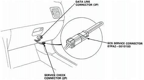 Honda Accord Obd Connector Location Wiring Diagram