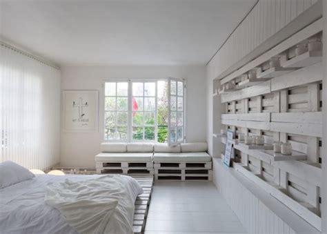 Schlafzimmer Wandgestaltung Ideen by Wandgestaltung Ideen Mit Paletten Freshouse