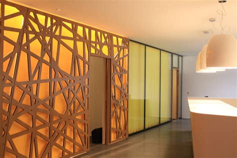 room dividers partition wall oak plywood  bruag