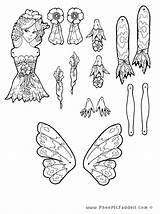Puppet Coloring Fairy Pheemcfaddell Papel Lilah Dolls Puppets Brinquedos Hampelmann Fee Crafts Fada Doll Trekpoppen Coloriage Pantin Toys Basteln Colorir sketch template