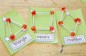 Playdough Shapes  Fun Way To Teach Preschoolers Geometry
