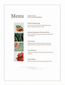 design your own free menu template pos sector With create a menu template free