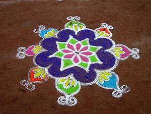 18 Very Simple Rangoli Designs For Beginners to Start With