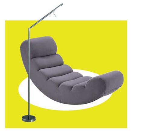 canapé liseuse fauteuil le à pied lecture confortable côté maison