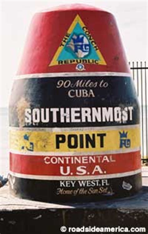 southernmost point  continental usa key west florida
