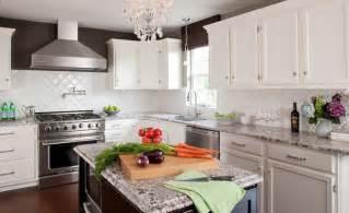 Houzz Kitchen Tile Backsplash White Kitchen Stained Island Pantry With Bianco Antico Granite Contemporary Kitchen