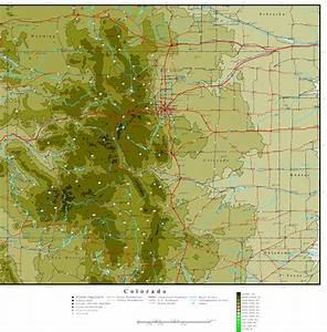 Colorado Elevation Map