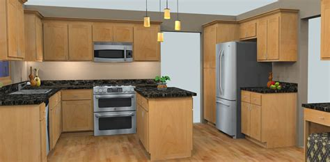 3d kitchen design design nuwood cabinets 1085