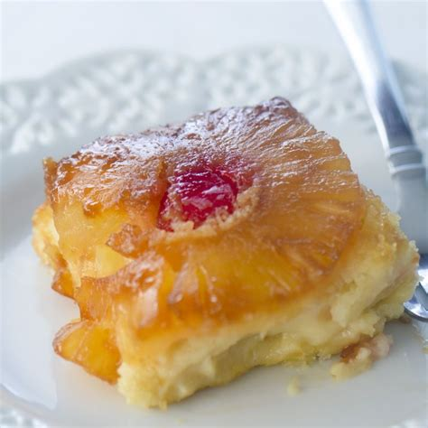 Add 1/4 cup of warm milk and stir until smooth. Trisha Yearwood's Pineapple Upside Down Cake - Recipe ...
