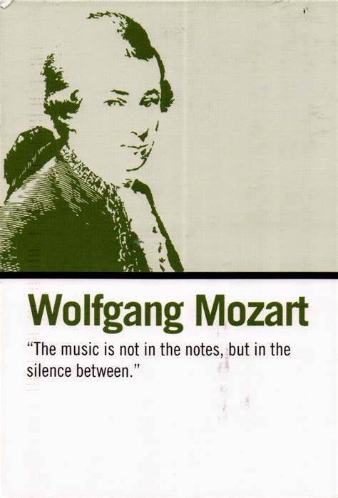 Wise Words Wolfgang Mozart Postally Yours