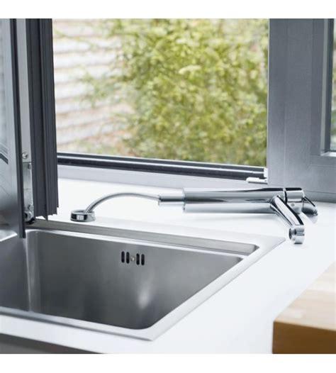 rubinetti cucina sottofinestra miscelatore cucina sottofinestra grohe eurostyle