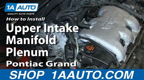 install replace fuel injector gm   pontiac