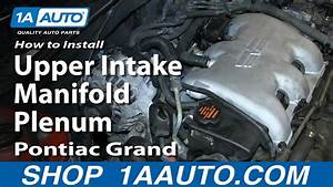 How To Install Replace Fuel Injector Gm 3 4l V6 Pontiac Grand Am Olds Alero