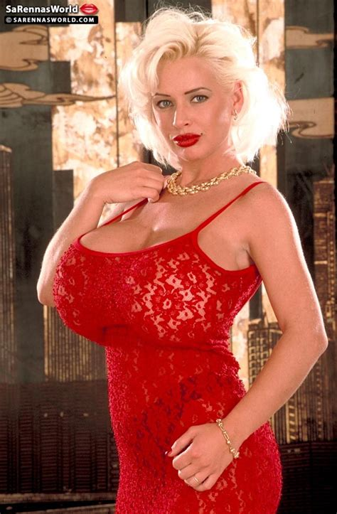 Sarenna Lee Glamorous Red Dress The Boobs Blog