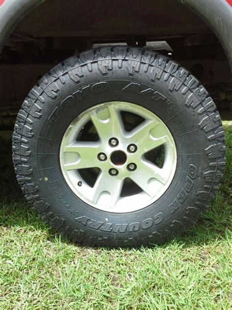 aggressive  terrain tire ford  forum
