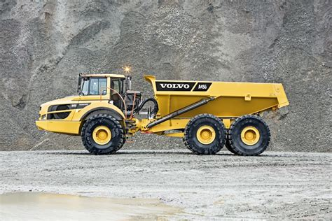concept off road truck volvo a45g articulated hauler power equipment company