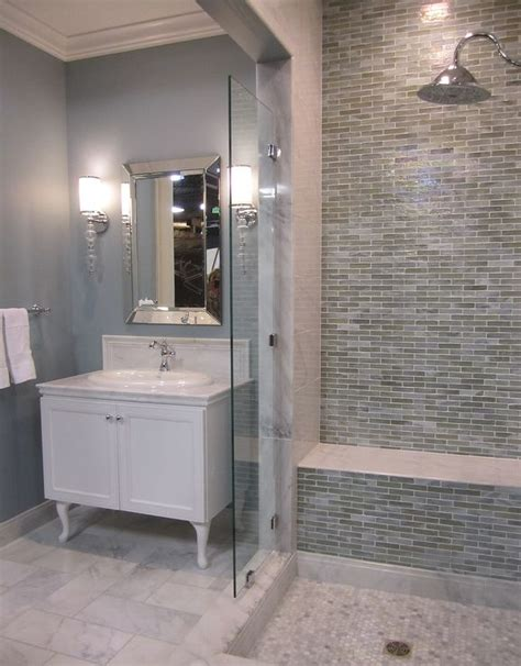 35 blue gray bathroom tile ideas and pictures 2020