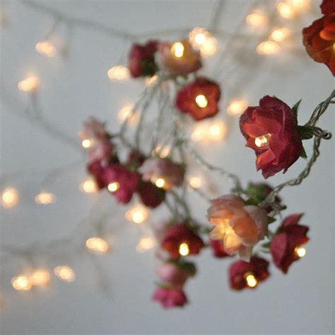 Bohemian Garden Mixed Rose Fairy Lights  Home  Wish List