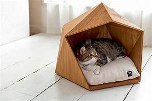 House for a cat: let the pet also have its own personal