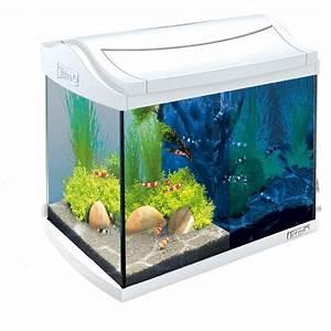 Aquarium Set Led : tetra aquaart led aquarium komplett set wei ~ Watch28wear.com Haus und Dekorationen