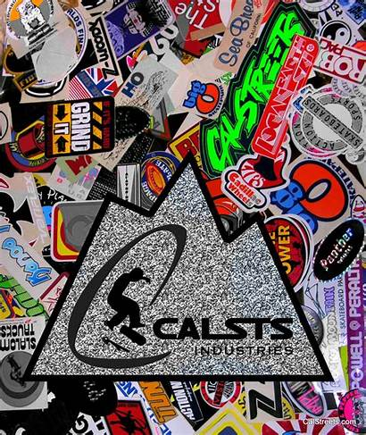 Sticker Calstreets Speed Board Industry Mountain Collect