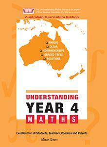 understanding year  maths australian curriculum edition