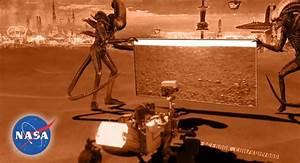 Mars nasa alien - Tuxboard