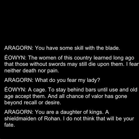 Eowyn Quotes. Quotesgram