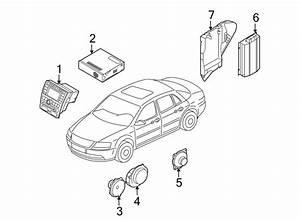 Volkswagen Phaeton Fuse Box Bracket  Radio Amplifier