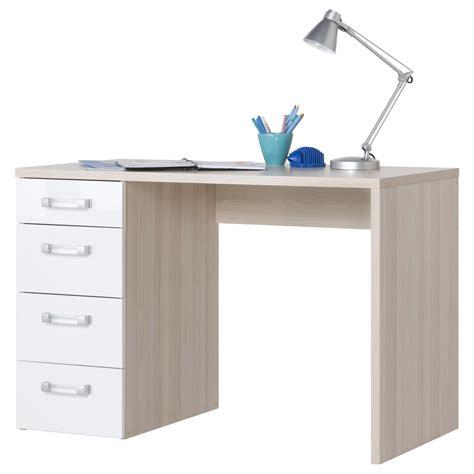 scrivania da scrivania da ufficio finitura frassino e bianco laccato