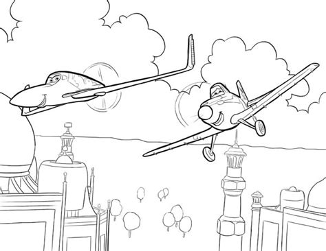 Planes Coloring Pages Bestofcoloringcom
