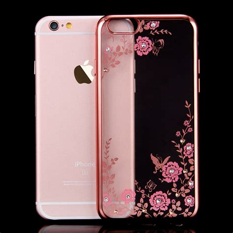 iphone 6s covers floveme protect soft gold tpu back cover for
