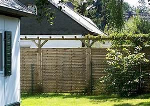 Sichtschutz Aus Holz : hoher sichtschutz hohe sichtschutzw nde bauen pergola und zaun ~ Eleganceandgraceweddings.com Haus und Dekorationen