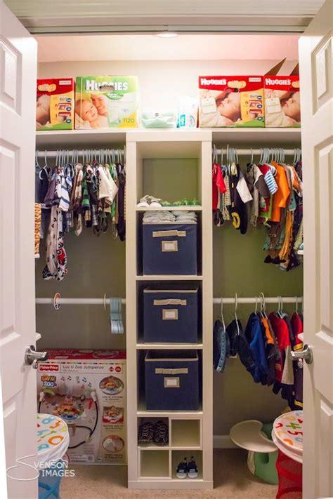 Shared Closet Organization Ideas by Favorite Nursery Closet Organization Style The