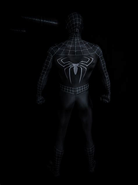 raimi symbiote spider man suit medium grade  limit