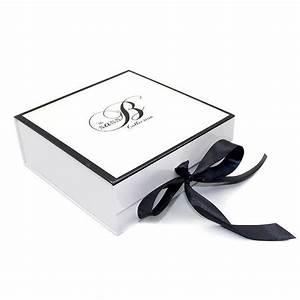 ribbon gift box folding cardboard box
