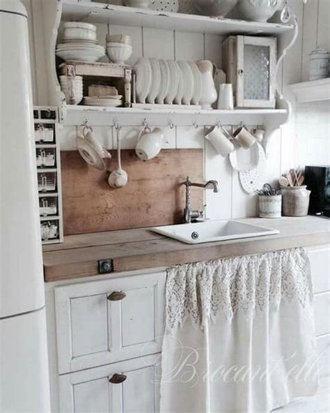 shabby chic curtains kitchen 32 sweet shabby chic kitchen decor ideas to try shelterness