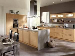 cuisine americaine optez pour un espace de vie convivial With decoration de cuisine americaine