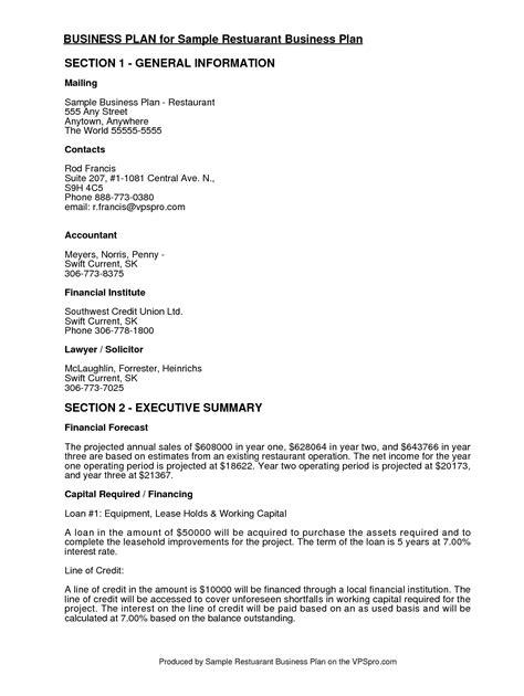 restaurant business plan template 32 free restaurant business plan templates in word excel pdf