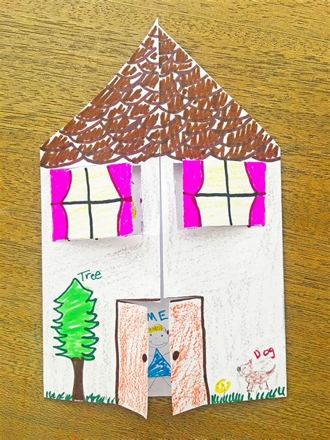 Paper House Craft  The Crafting Chicks