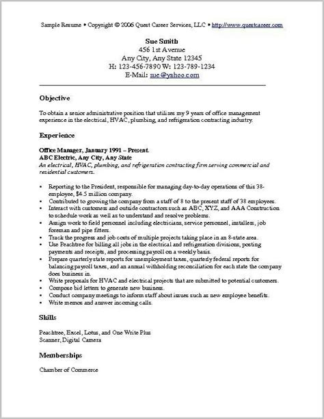 11469 simple objective in resume exles of resume objectives resume resume