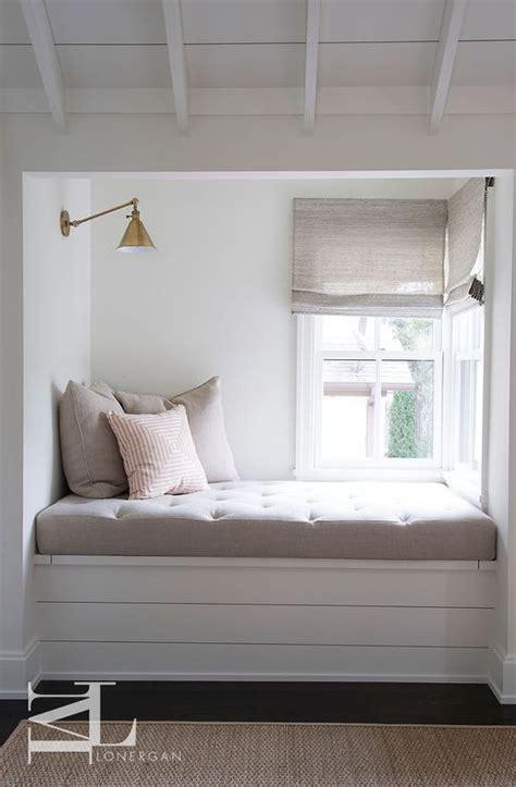 cute  relaxing corner featuring  built  window seat