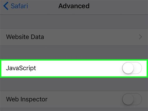 how to enable javascript in iphone how to turn javascript on an iphone 4 steps with