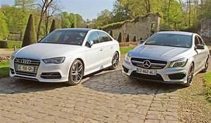 Quelle Audi A3 Choisir : essai comparatif audi s3 berline vs mercedes cla 45 amg ~ Medecine-chirurgie-esthetiques.com Avis de Voitures