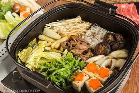 sukiyaki recipe すき焼き just one cookbook