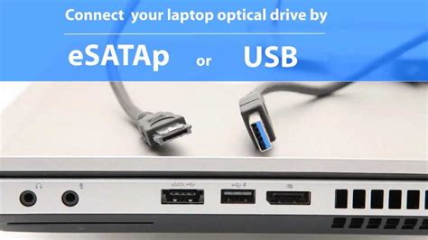 Connect Laptop Optical Dvd Drive Externally By Usb Or